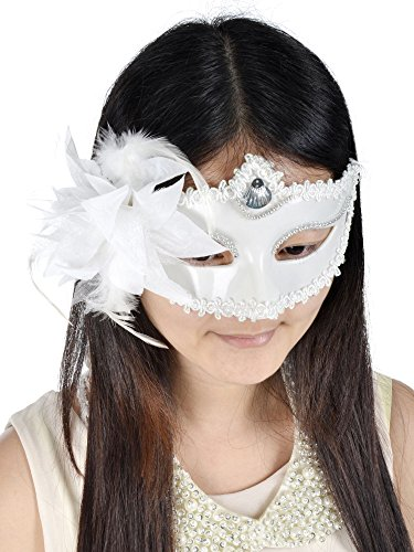 Venetian Masquerade Fancy Dress Prom Mask Costume Party Accessory Flower Eyemask