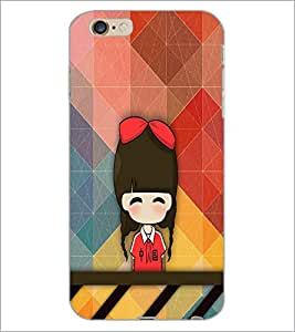 PrintDhaba Cartoon D-3340 Back Case Cover for APPLE IPHONE 6S (Multi-Coloured)