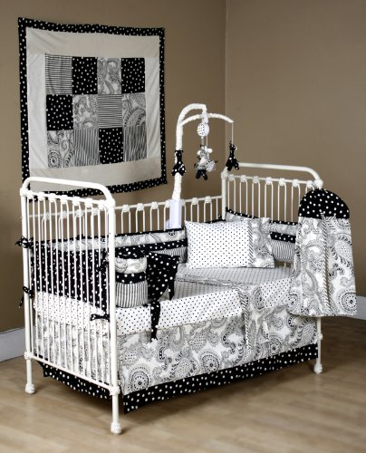 Sherry Kline Baby 6-Piece Crib to Toddler Bedding Set, Chez Lulu - 1