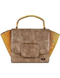 ILU Women's Designer Leather Satchel Handbags/Hobos & Shoulder Bags/Messenger Bags/Sling & Cross-Body Bags/Totes