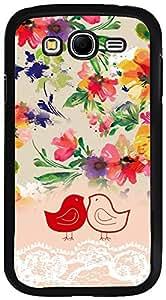 PrintVisa Case Cover for Samsung Galaxy Grand (D7765 Girly Cute Design)