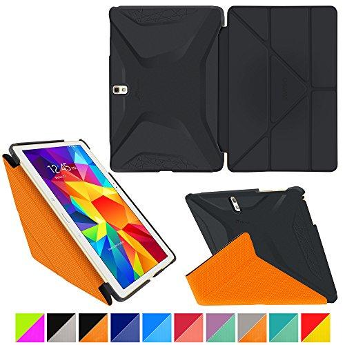 roocase-samsung-galaxy-tab-s-105-case-origami-3d-granite-black-roocase-orange-slim-shell-105-inch-10