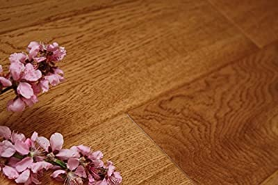 "Elk Mountain Oak Ivory 9/16"" x 5"" Hand Scraped Engineered Hardwood Flooring AF002 SAMPLE"