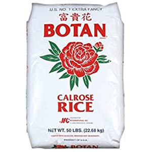 Amazon.com : Botan Calrose Kraft Rice, 50-Pound : Dried