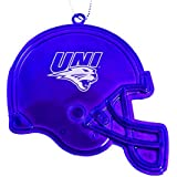 University of Northern Iowa - Chirstmas Holiday Football Helmet Ornament - Purple