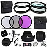 Ultra Fine 77mm Close-up MACRO Filters + 77mm 3 Piece Filter KIt + Accessory Kit For NIKON 28-300mm F/3.5-5.6G...
