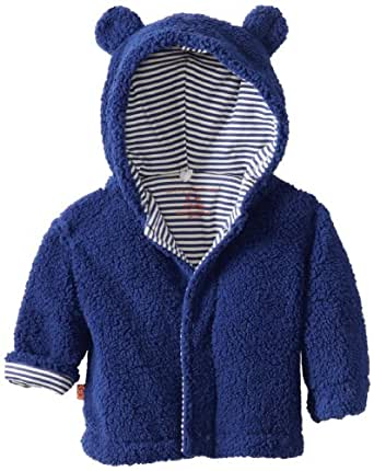 Magnificent Baby Baby-Boys Infant Hooded Bear Jacket, Blueberry, 0-6 Months