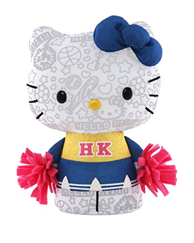 Hello Kitty Color Me Kitty Small Cheerleader Plush - 1