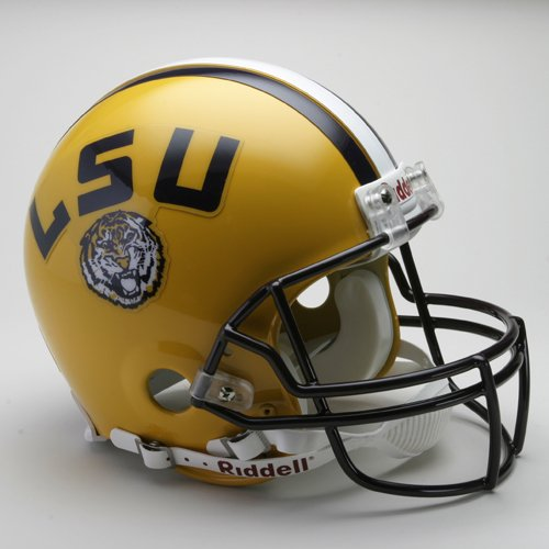 Riddell LSU Tigers Pro Line Helmet - LOUISIANA STATE TIGERS One Size