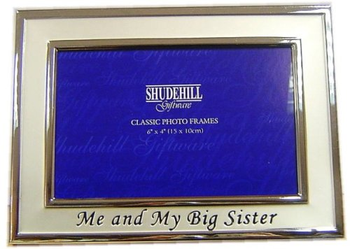 * 'Me & My Big Sister' Photo Picture Frame Gift