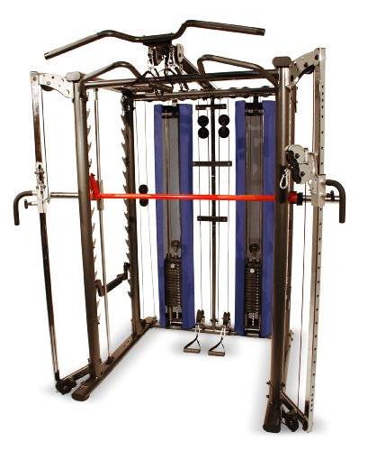 smith machine with pulley