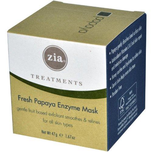 Zia Fresh Papaya Enzyme Mask, 1.67 Ounce Tub