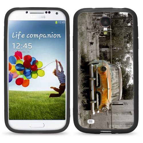 S4 Old Rusty Car For Samsung Galaxy I9500 Galaxy S4 Case Cover