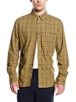 French Connection Camisa Hombre (Mostaza)