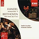 Handel: Keyboard Suites Vol. II - Beethoven: Piano Sonata Op.31 No.2