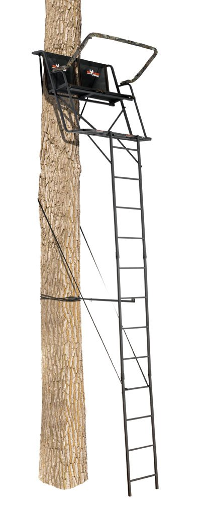 Big Game Treestands Big Buddy 2 Man Ladderstand Tree Stand