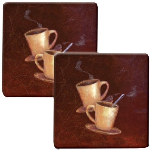 "Range Kleen Hp77As Hot Pad ""Coffee"" Kovers, 2 Pk"
