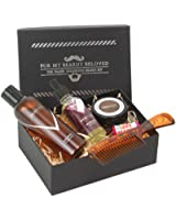 Men Rock Beard Care and Moustache Care Gift Set