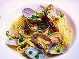 イタリアでは あさりの大粒や粒ぞろいのことをボンゴレ ベラーチと言います。その名をつけたスパゲッティボンゴレベラーチ。