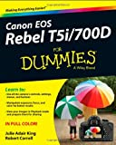 img - for Canon EOS Rebel T5i/700D For Dummies book / textbook / text book