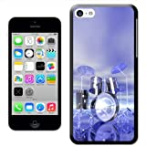 Fancy A Snuggle Funky Reflective Drum Set Futuristic Hard Case Clip On Back Cover for Apple iPhone 5C