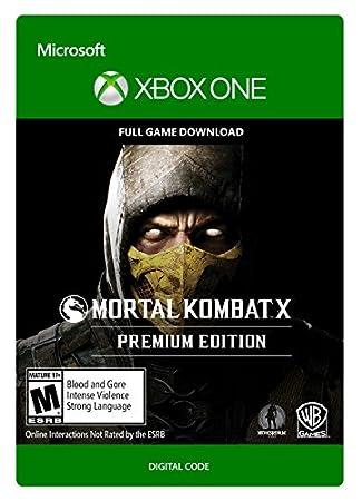 Mortal Kombat X Premium Edition Pre-load  - Xbox One [Digital Code]