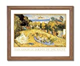Vincent Van Gogh Old French Landscape Home Decor Wall Picture Oak Framed Art Print