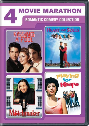 Cover art for  4 Movie Marathon: Romantic Comedy Collection (Kissing a Fool / Heart and Souls / The Matchmaker / Playing for Keeps)