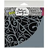 Crafters Workshop Template, 6 by 6-Inch, Flower Quarter