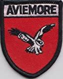 Aviemore Inverness and Nairn Crest Scotland Scottish Flag Embroidered Patch Badge