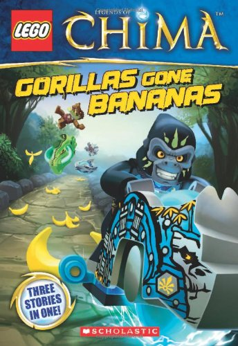 LEGO Legends of Chima: Gorillas Gone Bananas Chapter Book #3