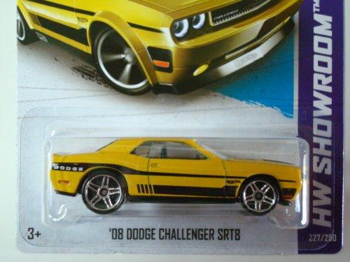 2013 Hot Wheels Hw Showroom - '08 Dodge Challenger Srt8 Error/Variation [Pr5 Wheels]