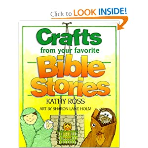 Crafts from Your Favorite Bible Stories (Turtleback School & Library Binding Edition) (Christian Crafts)