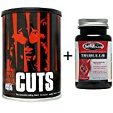 Get UNIVERSAL NUTRITION ANIMAL CUTS 42 PACKS + TRIBULUS - FAT BURNER THERMOGENIC Review-image