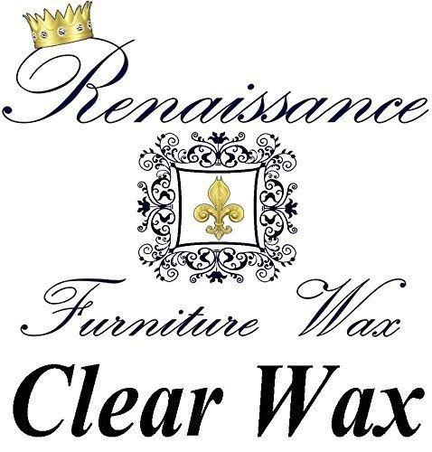 Renaissance Furniture Wax 8oz - Clear Wax (Clear Furniture Wax compare prices)