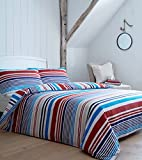 ShawsDirect BHS Torquay Stripe Quilt Cover | Double | FREE P&P