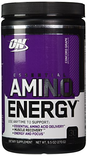 Optimum Nutrition Essential Amino Energy Concord Grape - 30 Servings, 9.5 oz (Bcaa Grape compare prices)