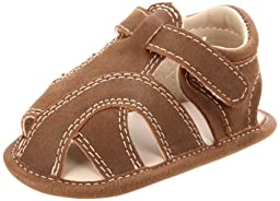 Natural Steps NSS320 Sandal (Infant),Brown,2 M US Infant