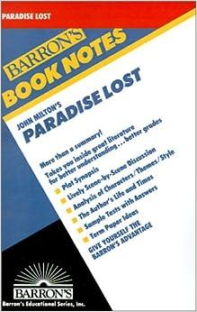 paradise lost essay topics paradise lost essays gradesaver