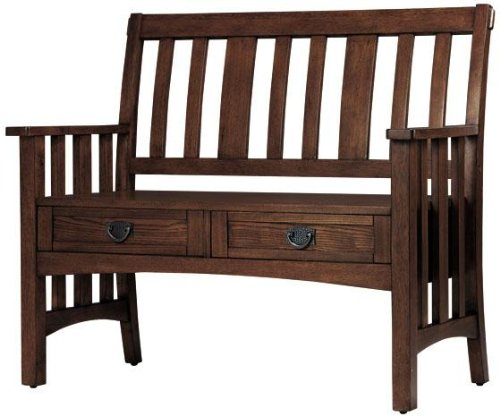 Artisan Bench With Drawers, 42Wx23Dx36H