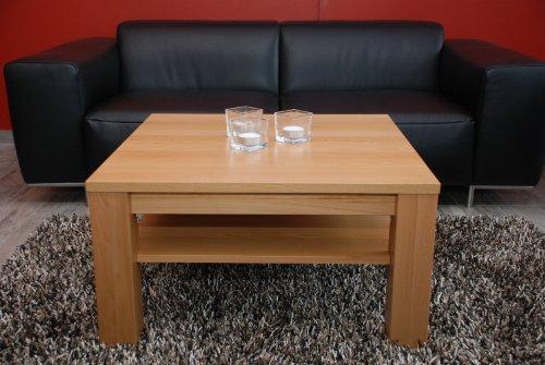 wohnzimmer ideen testen couchtisch 60x60 cm mit ablage buche echtholz massivholz h he 48 cm. Black Bedroom Furniture Sets. Home Design Ideas