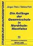 img - for Die Anf nge der Gesamtschule in Nordrhein-Westfalen (Studien zur Bildungsreform) (German Edition) book / textbook / text book