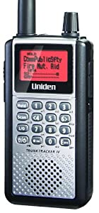 Uniden Handheld TrunkTracker IV Digital Police Scanner (BCD396XT)