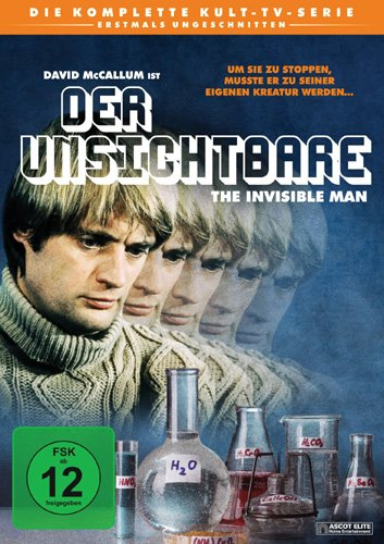 Der Unsichtbare - The Invisible Man - Die komplette Serie (4 DVDs)