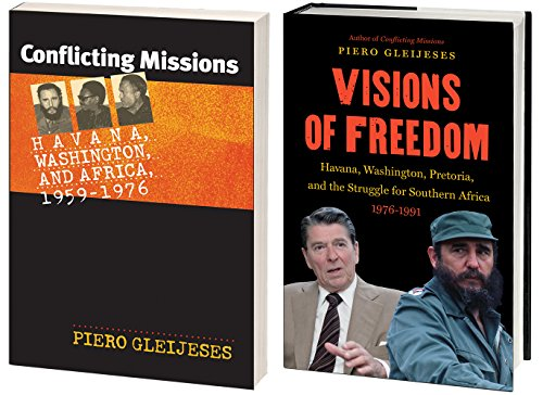 Piero Gleijeses' International History of the Cold War in Southern Africa, Omnibus E-Book: Includes Conflicting Missions and Visions of Freedom (Bella Cold Press compare prices)