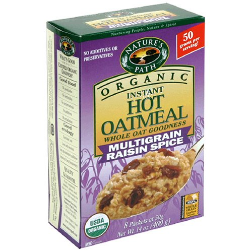 Nature's Path Organic Instant Hot Oatmeal, Multigrain 