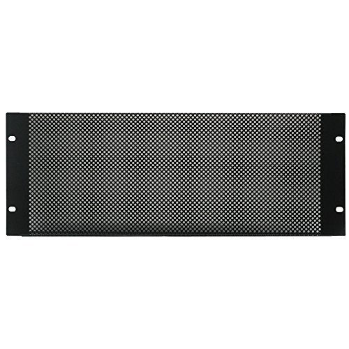 4U Black Vented Rack Panel (Rack Mount Vent compare prices)
