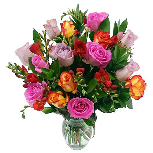 clare-florist-midsummer-dream-fresh-flower-bouquet-with-free-delivery-mixed-roses-and-freesia-for-a-