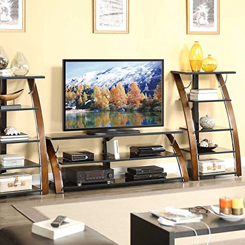whalen furniture avcec65 tc table top entertainment stand 65 inch centers tv stands. Black Bedroom Furniture Sets. Home Design Ideas