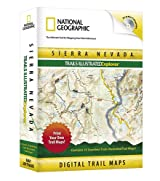National Geographic Sierra Nevada Trails Illustrated Explorer